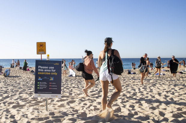 Not a normal summer: Sydney council warns of restricted access to beaches