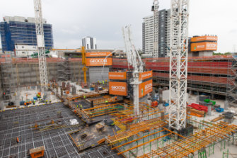 Geocon's Republic is among the more complex developments the ACT Planning Authority has struggled with.