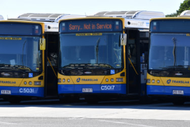 Brisbane buses are often overcrowded particularly on key routes through southern suburbs to the University of Queensland.