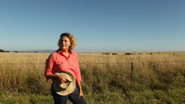 Fiona Simson, president of the NSW Farmers' Association on her property Liverpool Plains.