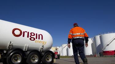Origin Energy has taken a massive writedown on a coal seam gas field in Queensland