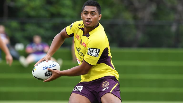 Stepping up: Anthony Milford.