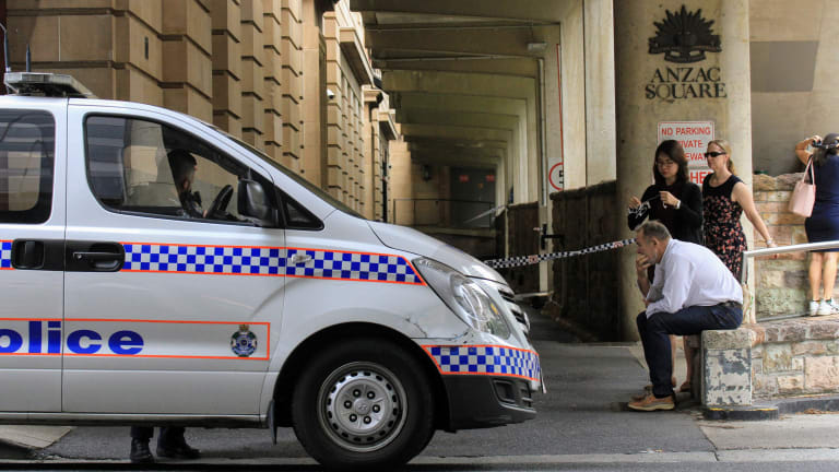 The man died when he was struck by the rubbish truck while he was sleeping.