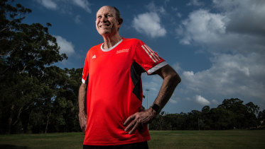 David Matheson, 69, is one of 12 runners who have taken part in the half-marathon every year since it began in 1992.