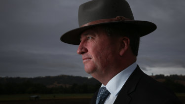 Deputy Prime Minister in his electorate of New England.