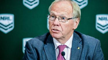 New era: ARLC Chairman Peter Beattie says an improvement in off-field behaviour is encouraging.