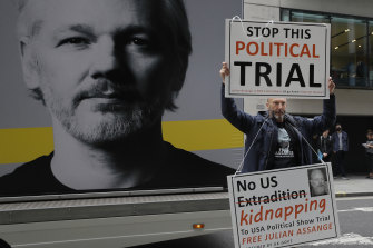 US vows to appeal after British court rejects bid to extradite Julian Assange