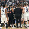 Three charged with headbutting in wild NBL clash