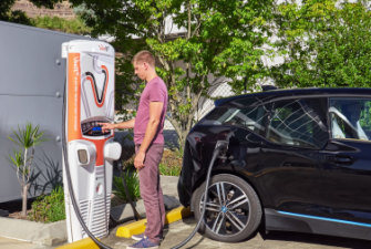 Electric vehicle batteries can increase demand for electricity, they can also provide a reservoir of stored energy that can be fed back to the grid when needed.