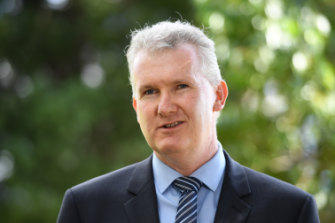 "Labor's arts spokesman, Tony Burke, said the arts ""drive how we find our place here, how we learn about each other and how the world understands us""."