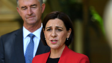 Opposition Leader Deb Frecklington says she and her deputy Tim Mander have drawn a line in the sand.
