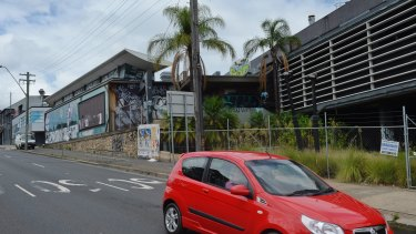 The old Balmain Leagues Club at Rozelle has been earmarked as an extraction point for spoil from the proposed Western Harbour Tunnel.