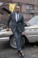 """Forest Whitaker as Ellsworth """"Bumpy"""" Johnson in Godfather of Harlem."""