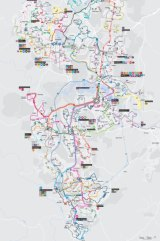 Transport Canberra has released its new public transport map with the new network expected to start on April 29.