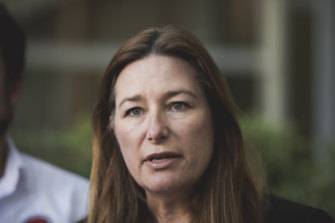 ACT education minister Yvette Berry has defended her position after a report found Canberra's education system the worst-performing in the country.