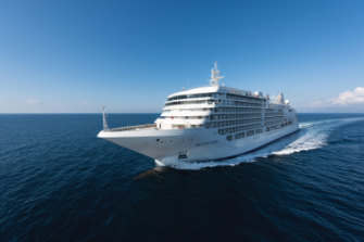 One of Silversea Cruises' luxury ships.