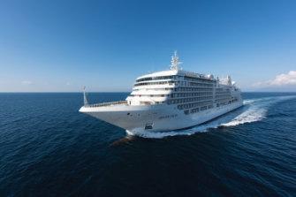 One of Silversea Cruises' luxury ships.