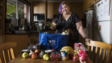 Miriam Mulcahy used Aussie Farmers Direct as a convenient way to feed the family.