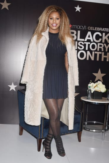 Orange is the New Black's Laverne Cox.