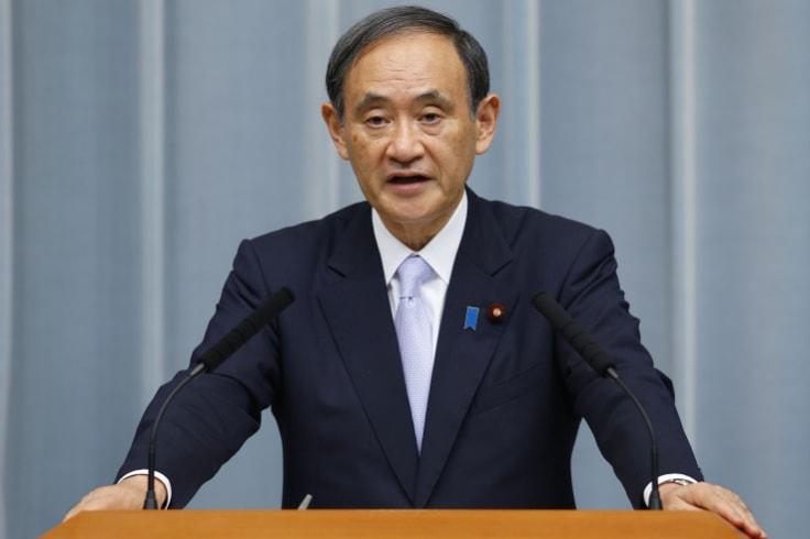 Japan's Chief Cabinet Secretary Yoshihide Suga.