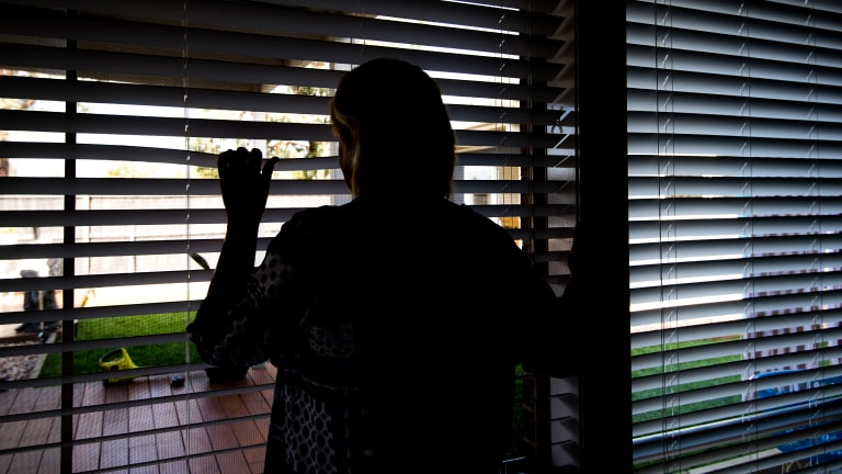 Michelle lives in fear after she was subjected to an aggravated burglary.