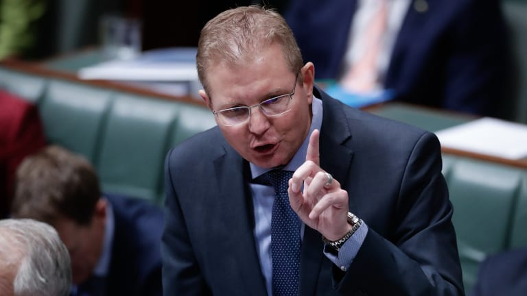 'Based on lies': Minister Craig Laundy has challenged Sally McManus' figures on casual work.