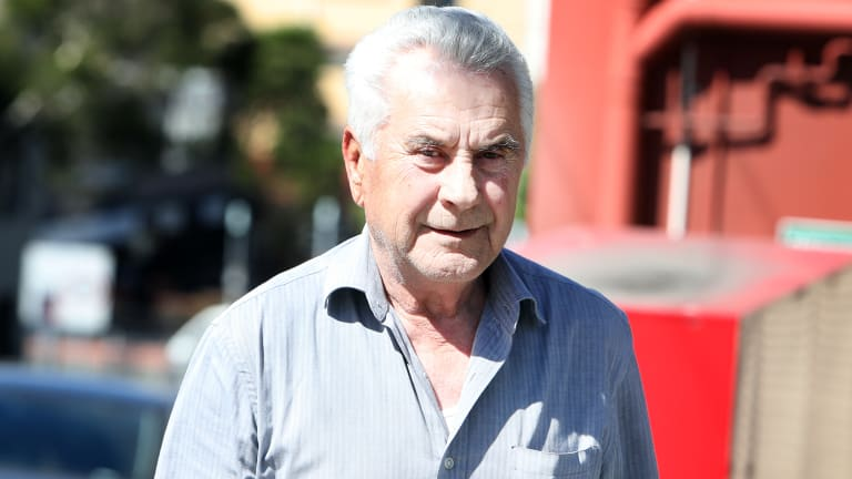 Krste Kovacevski, pictured at an earlier court appearance.