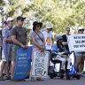 WA Parliament shuts down as Extinction Rebellion protest enters upper house