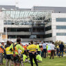 Young apprentice dead, two workers injured after building collapse at Curtin University