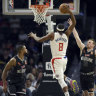 Melbourne United unable to slow Clippers in NBA pre-season showdown