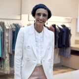 Australian fashion designer Anna Thomas.