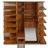 The designer shoe cabinet up for grabs.