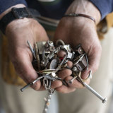Beau Miles is an outdoor education lecturer. But the quote for renovating his office turned him into a junk collector.