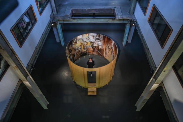 An art installation at Casula Powerhouse Arts Centre.