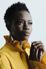 Aminata Conteh-Biger, who first came to Australia as a refugee 20 years ago.