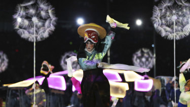 Colour and culture were highlights of the closing ceremony.