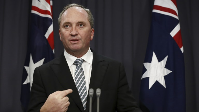 Deputy Prime Minister Barnaby Joyce has made a statement about the latest allegations.