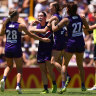 Dockers dominate GWS as state goes into lockdown