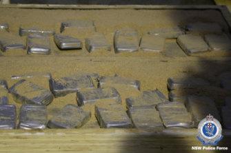 The cocaine seized had a street value of $34 million.