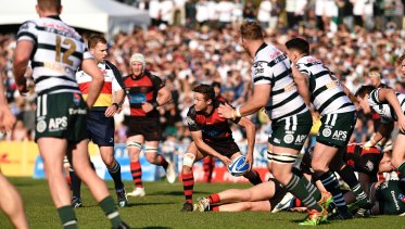 Pinnacle: Angus Gardner considers the 2017 Shute Shield grand final the best game of his career to date.
