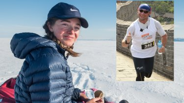 Melbourne schoolgirl Jade Hameister, 16, and Brisbane marathon runner Carlo Tonini, 50, are set to be recognised as part of the world's elite North and South Pole conquerors.