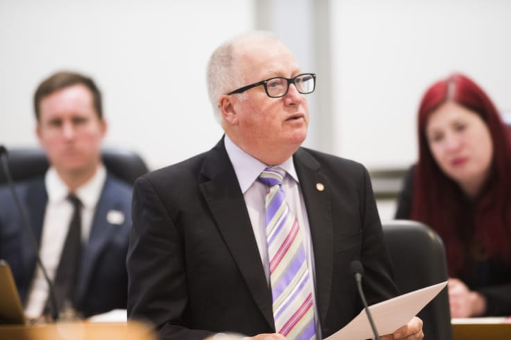 Planning minister Mick Gentleman has used his call-in powers to approve a new electricity project for Ginninderry.