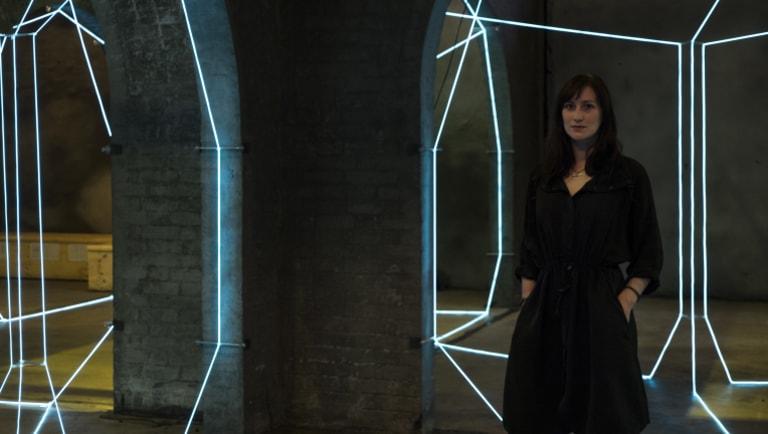 Artist Meagan Streader.
