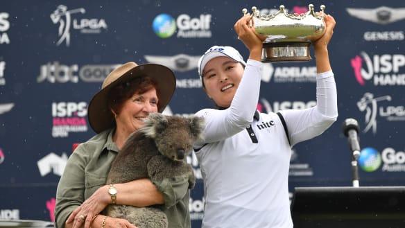 Koreans set high standard to follow at Australian Open
