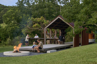 Luke Hayward's project Broken Camp won an architecture award for small projects.
