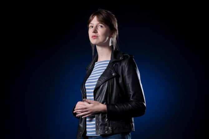 Irish novelist Sally Rooney, author of Normal People.