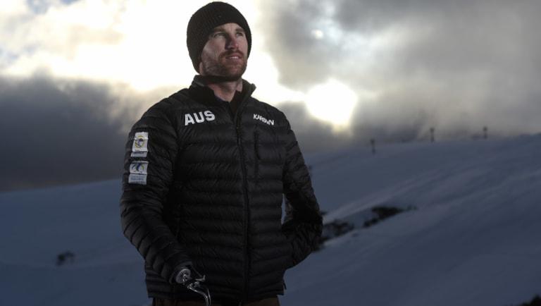 Paralympic snowboarder Sean Pollard.