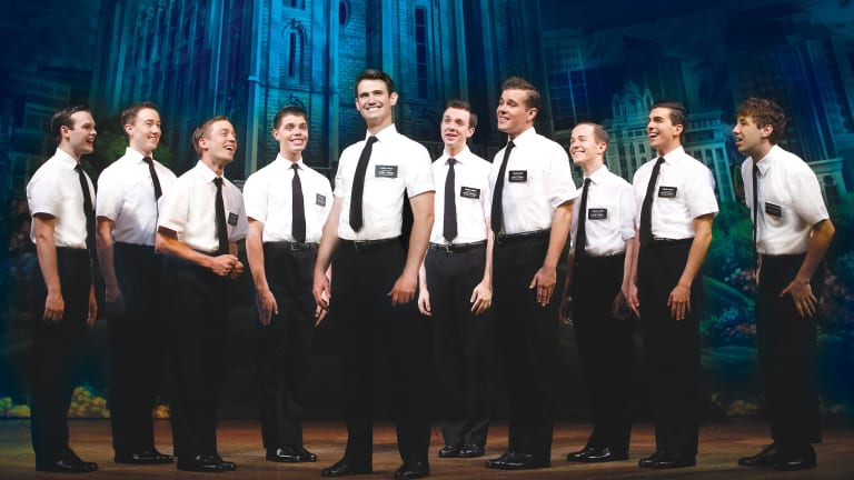 The Australian company of The Book of Mormon