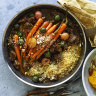 Neil Perry's lamb shoulder and carrot tagine