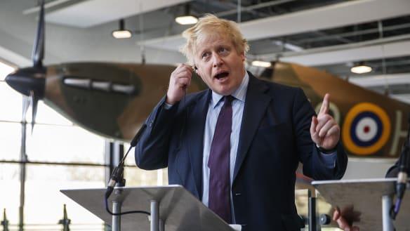 Johnson compares Putin to Hitler as UK-Russia spy spat escalates